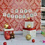 Las mejores fotos de Navidad se hacen en casa