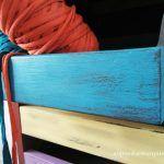 Estilo vintage recuperando una cajonera de madera