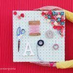 Cómo hacer un organizador para material de manualidades
