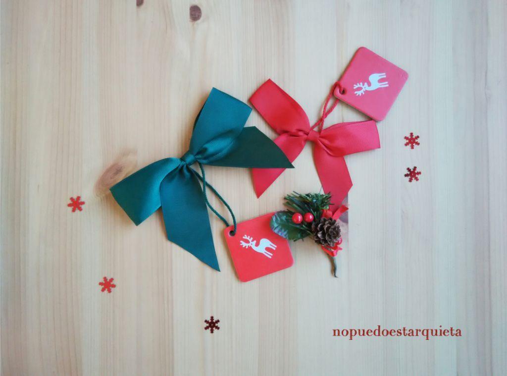 Adorno puerta Navidad lazos