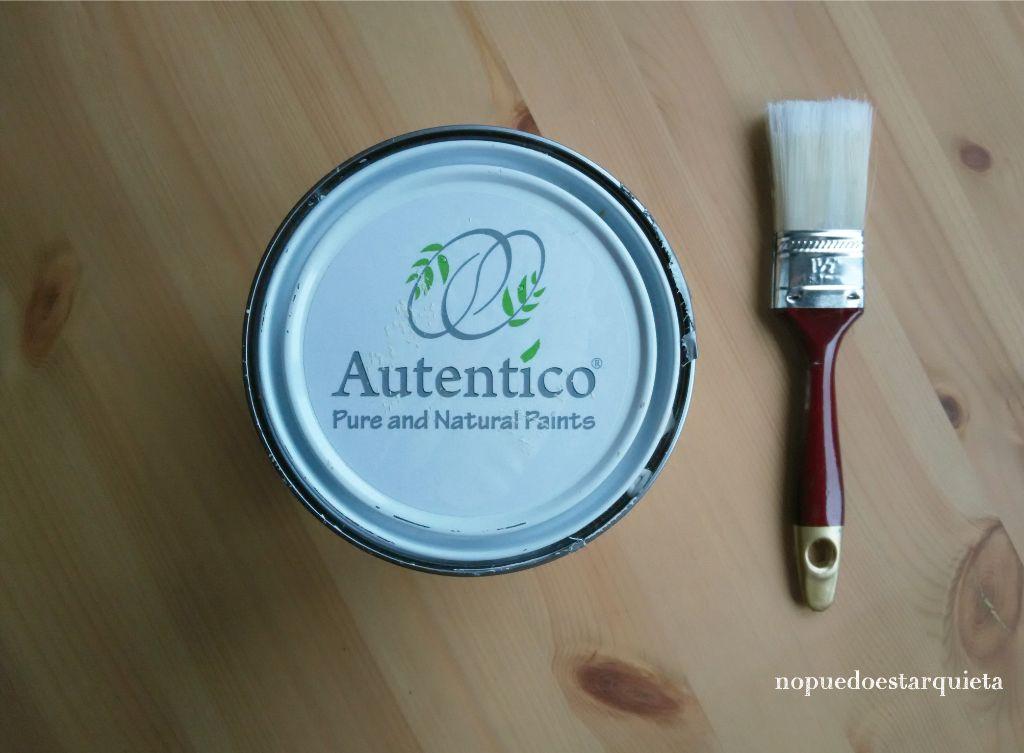 Auténtico chalk paint. Blanco antiguo