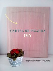 Blackboard party. Pintura pizarra diy.
