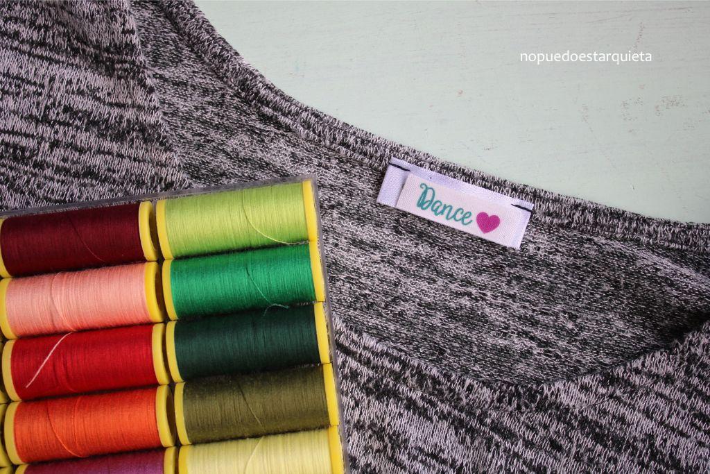 Cintas personalizadas para ropa. DIY. Hazlo tú mismo. Cintas marcaje ropa.