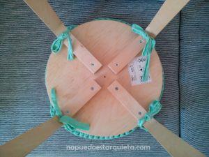 cojín de trapillo para Taburete Frosta de Ikea