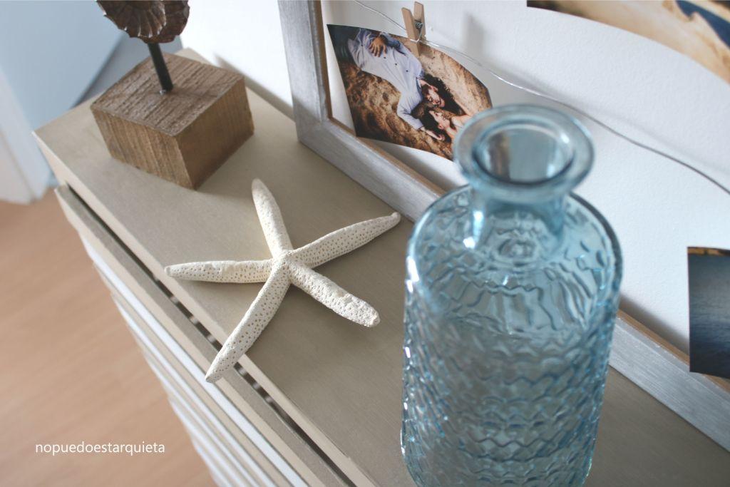 Cubrerradiador transformado con pintura chalkpaint Autentico. DIY muebles