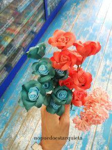 Peineta de flores DIY. Adornos para el pelo. wedding. Bodas.