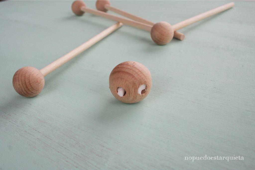 hacer un móvil de madera