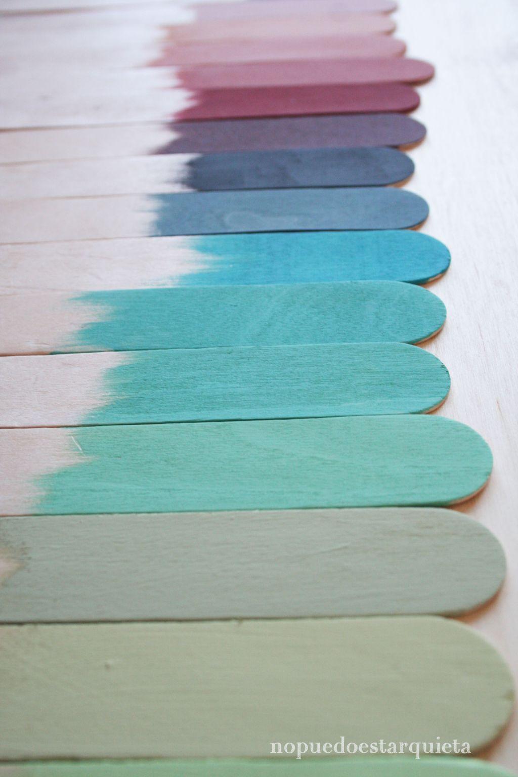 Mezclar pinturas chalk paint
