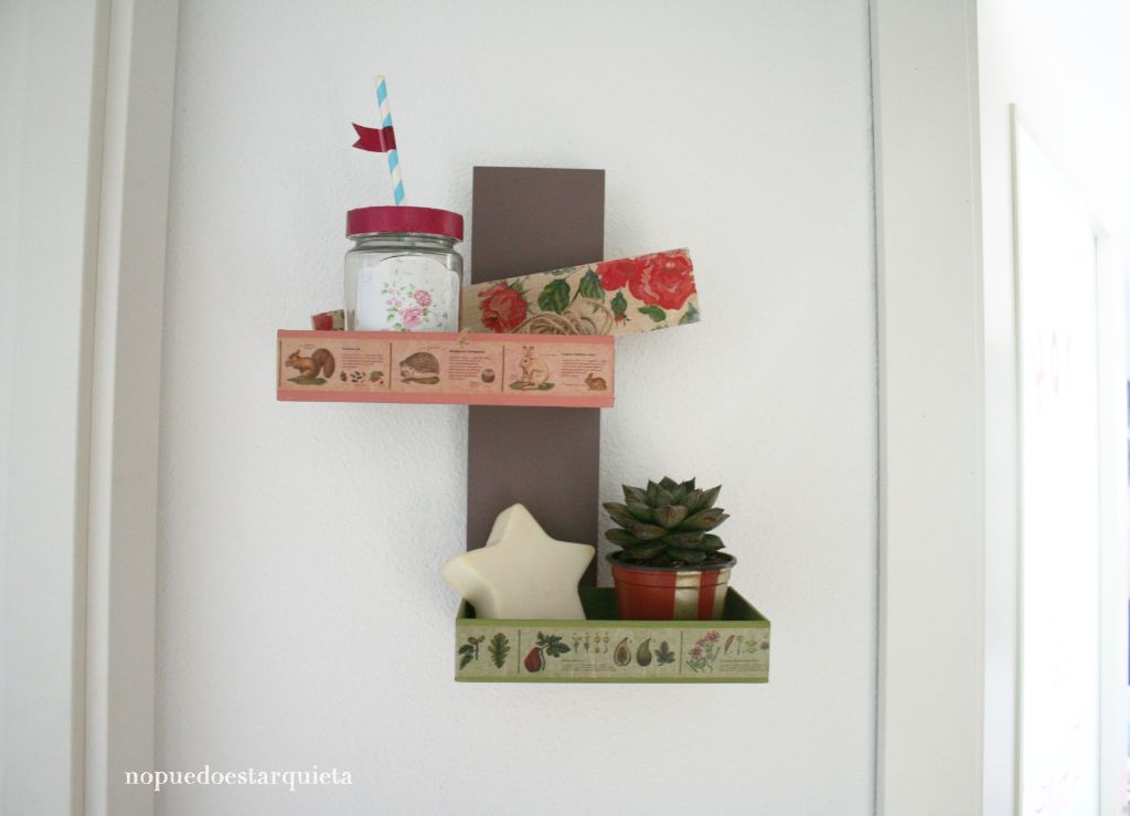 Organizador de pared DIY DECO