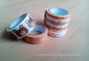 Washi tape cinta adhesiva