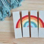 puzzle de madera arco iris