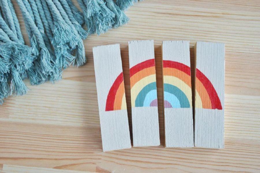 Juguetes de madera DIY