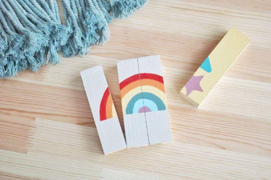 Puzzle de madera DIY