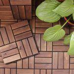 decorar terraza pequeña suelo ikea