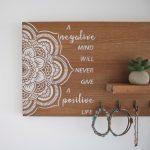 decorar con un retal de madera