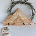 Perchero de madera DIY con Xylazel